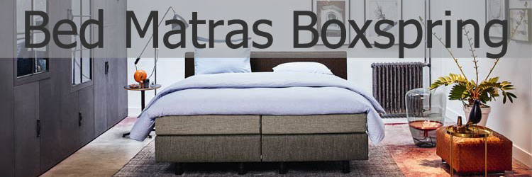 bed matras boxspring header